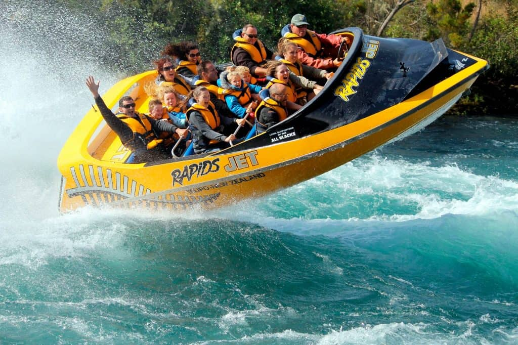 best jet boating tours nz