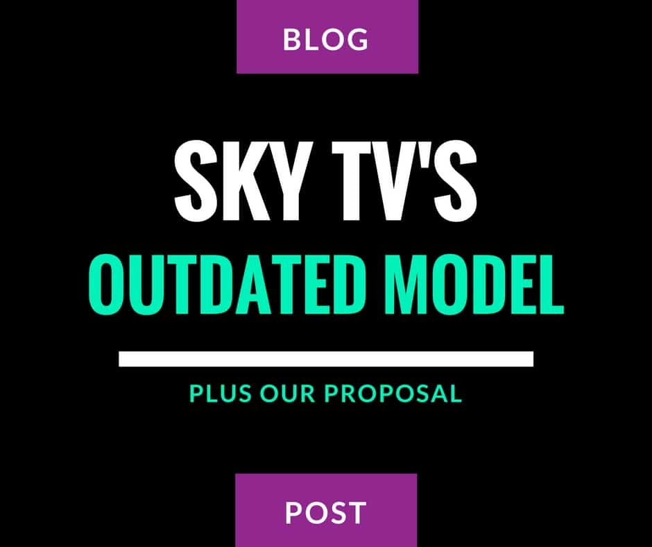 sky tv dieing business model