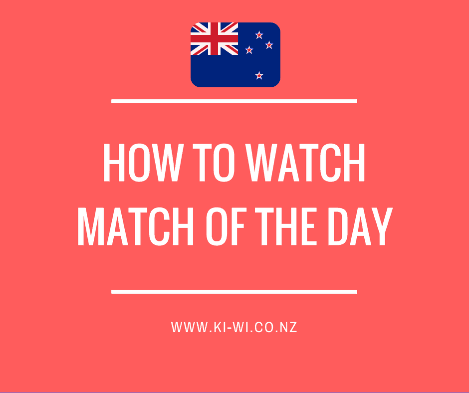 match of the day nz