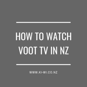 how to watch voot in nz