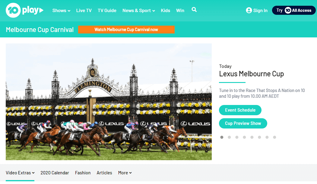 watch melbourne cup nz