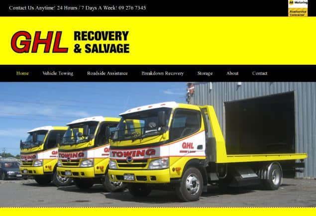 best auckland towing company