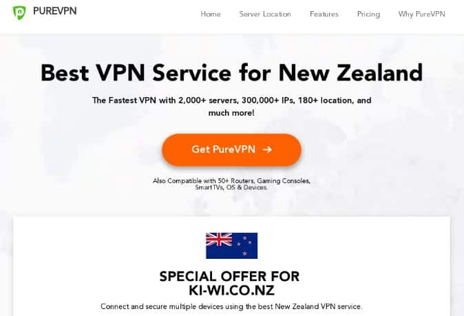 purevpn review nz