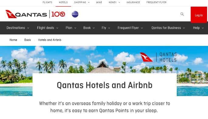 qantas hotels
