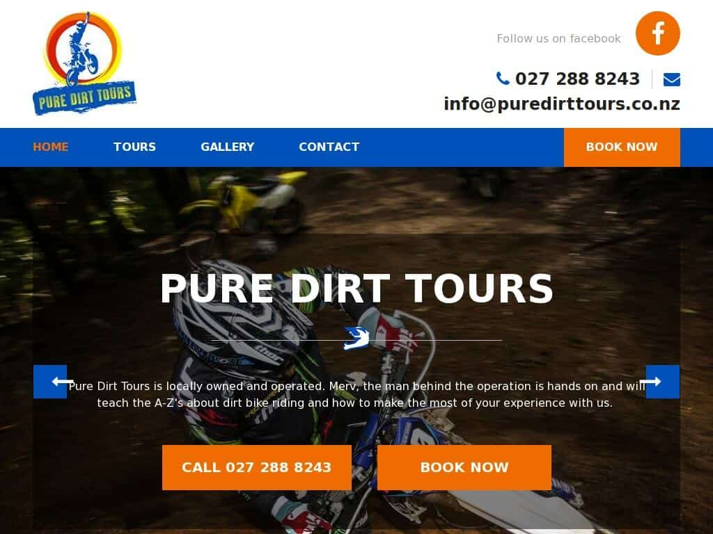 best dirt bike tours nz