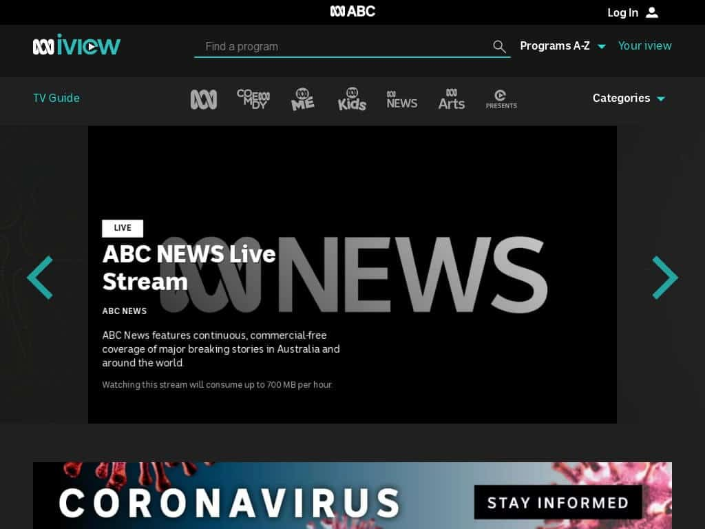 watch abc iview nz
