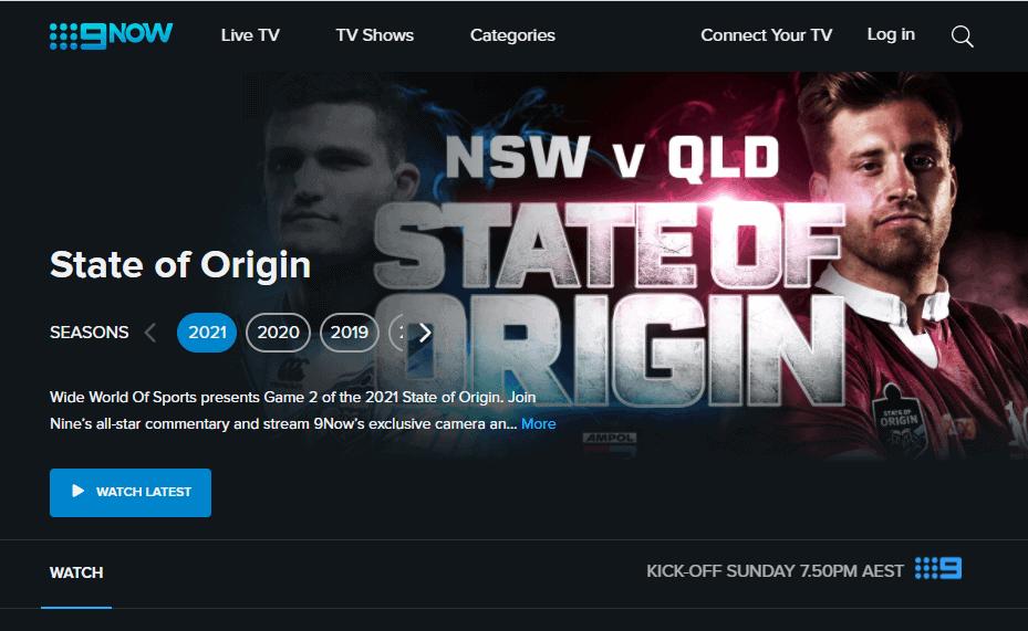 watch state of origin nz